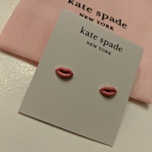 *NEW* ♠️ Kate Spade lip 💋 earrings
